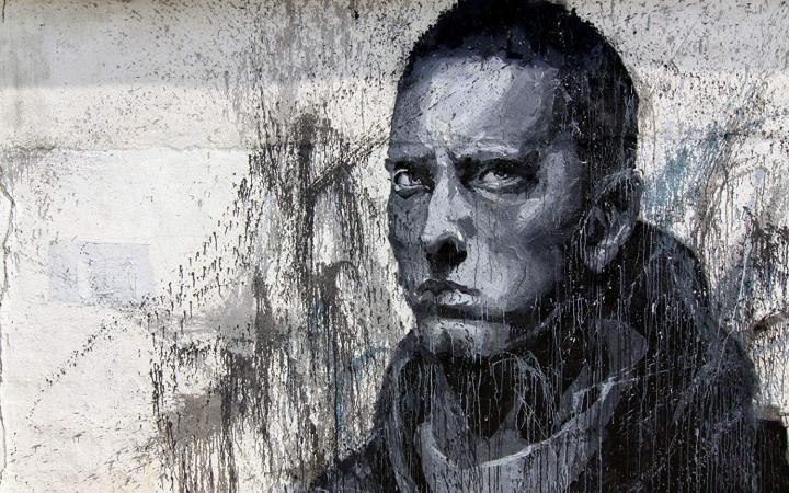 Designs Eminem Graffiti Trippy Poster