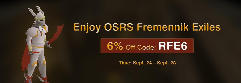 RSorder Promo: Buy 6% off OSRS Gold for Fremennik Exiles