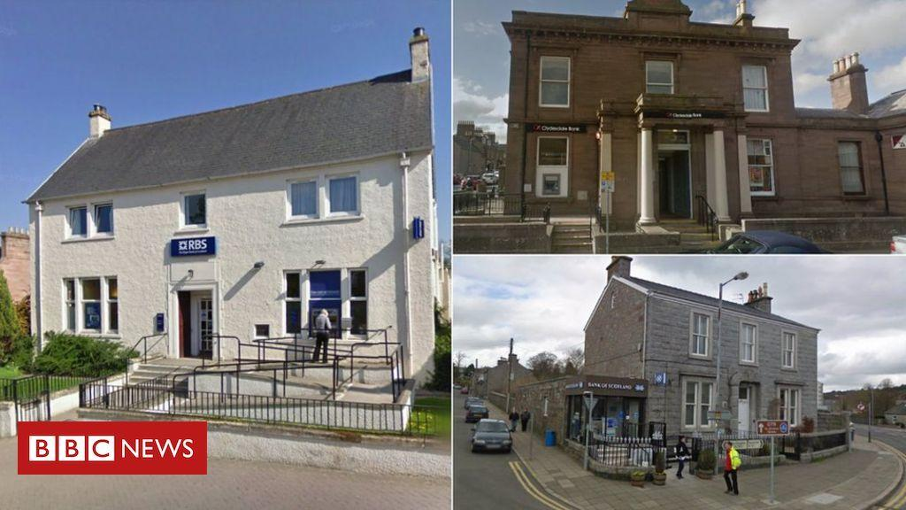 Cash fears as third of Scottish banks lost